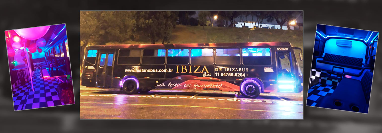 FESTA NO BUS - BUS PARTY LIMOUSINES
